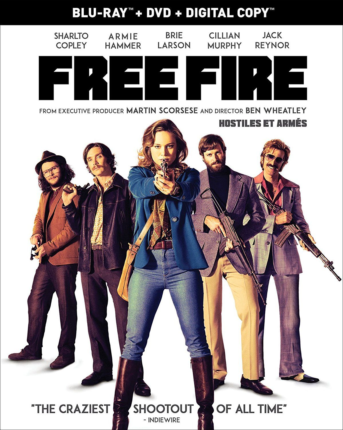 Free Fire (2016) UNCUT Dual Audio Hindi 300MB BluRay 480p