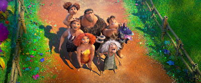 Family Prehistoric Croods Animated Animation Modern