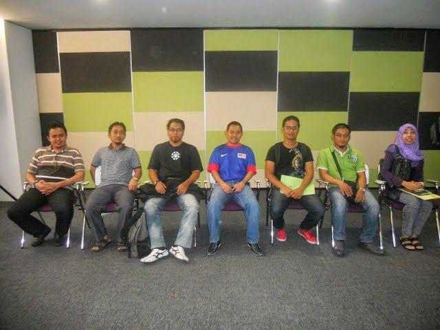 Rakan Blogger dalam Seminar Hartanah Abang Ensem