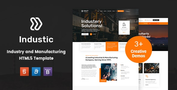 Factory and Manufacturing Template