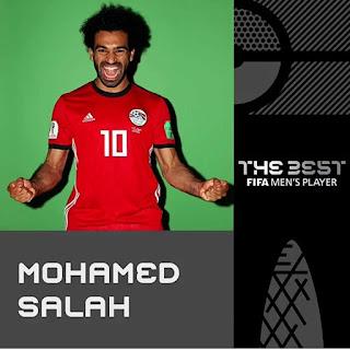 محمد صلاح يواصل كتابة التاريخ للاعبين العرب و الأفارقة  يترشح لجائزة افضل لاعب فى العالم thebest