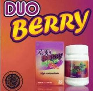 Suplemen Duo Berry Pemutih Tubuh Sekaligus Pelangsing