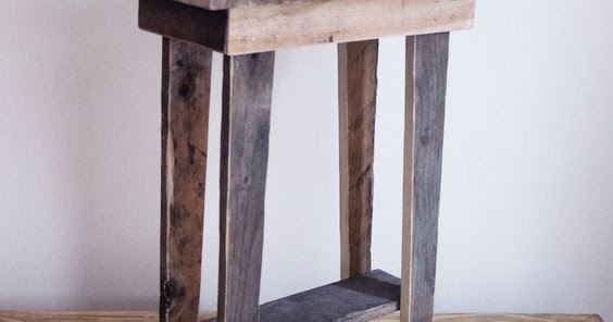 Pallet-Projects : Small Basic Table Made From Pallets