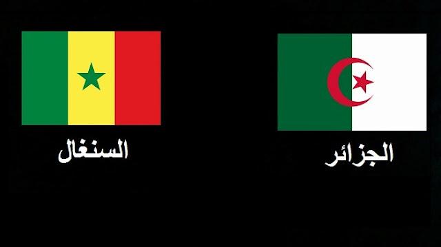 موعد وتردد القنوات المفتوحة الناقلة لمباراة الجزائر ضد السنغال مجانا