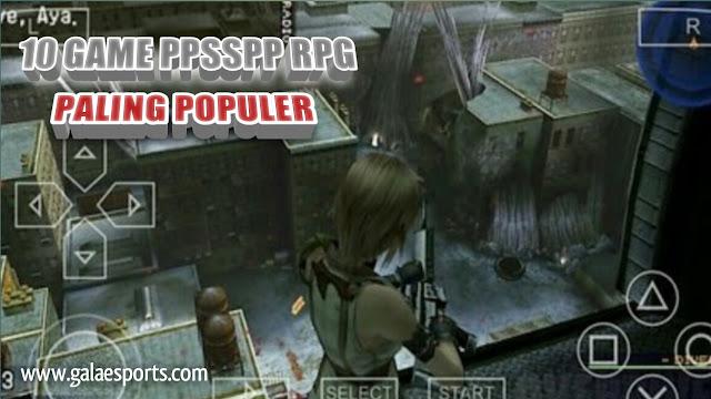 Gila! 10 Kumpulan Game PPSSPP RPG Paling Populer!
