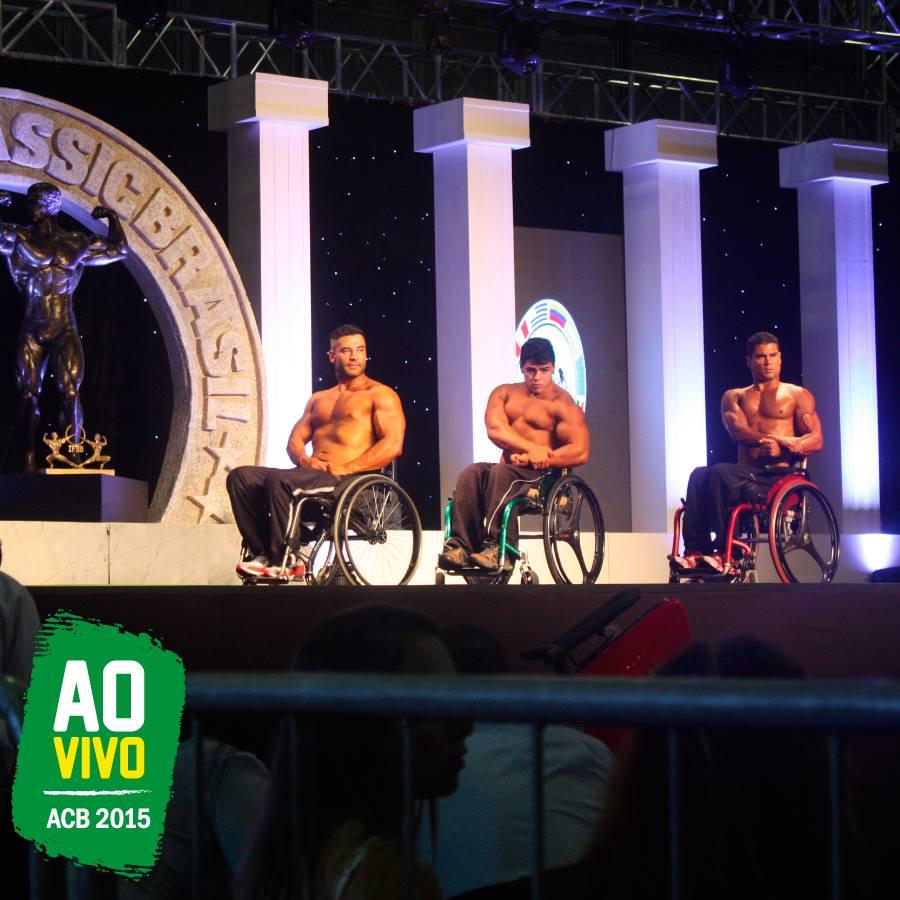 Moreira Junior se apresentou no palco do Espaço Arnold Paradesportivo. Foto: Divulgação