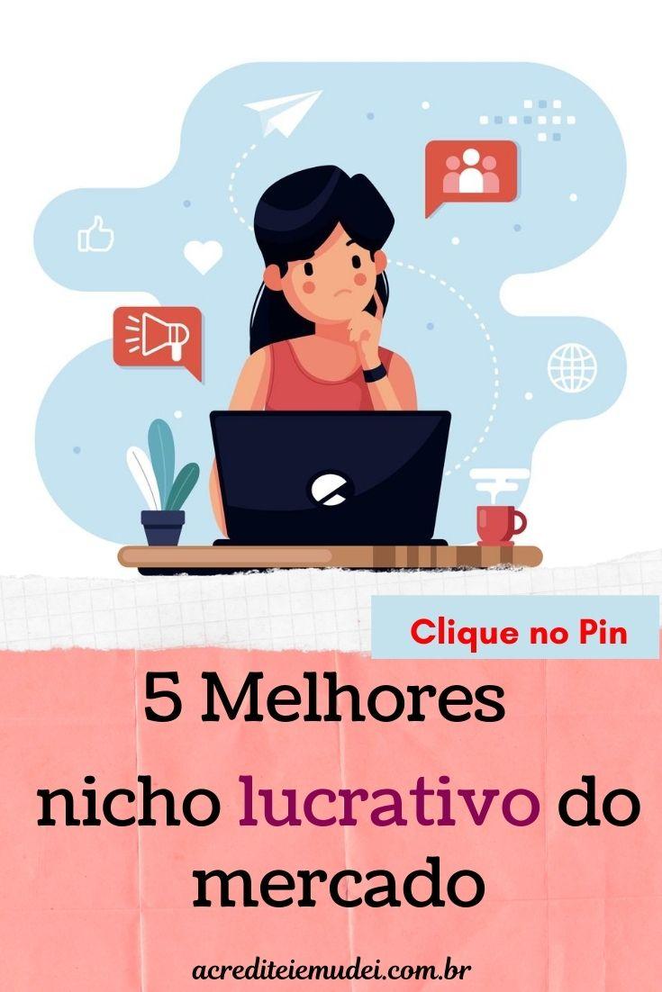 OS MELHORES NICHOS DE MERCADO: 5 ideias lucrativas
