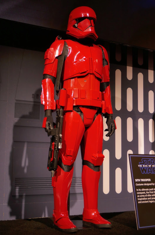 Star Wars Rise of Skywalker Sith Trooper armour