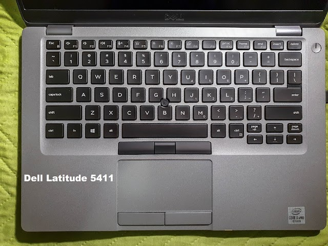 Dell Latitude 5411 keyboard