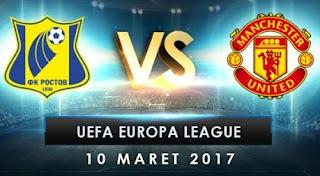 Susunan Pemain FC Rostov vs Manchester United