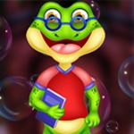 PG Funny Study Frog Escape