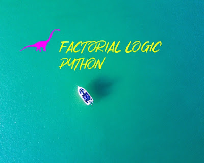 Python logic easy way to calculate factorial using user defined function. Useful for your project.