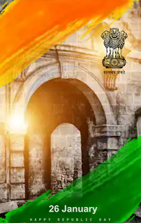 26 January Background For Picsart | Happy Republic Day Backgrounds Hd