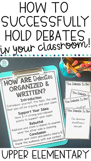 debate activities and lessons for elementary