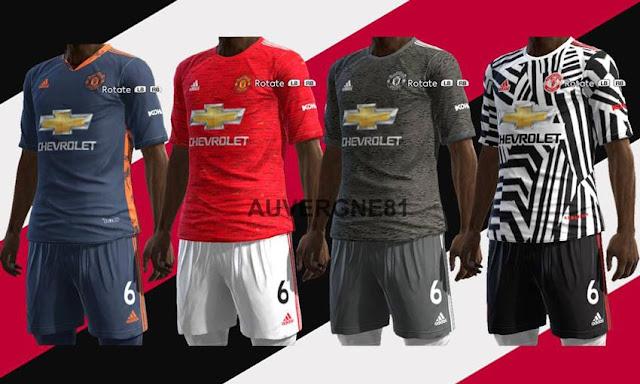 Pes 2013 Manchester United 20 21 Kits Kazemario Evolution