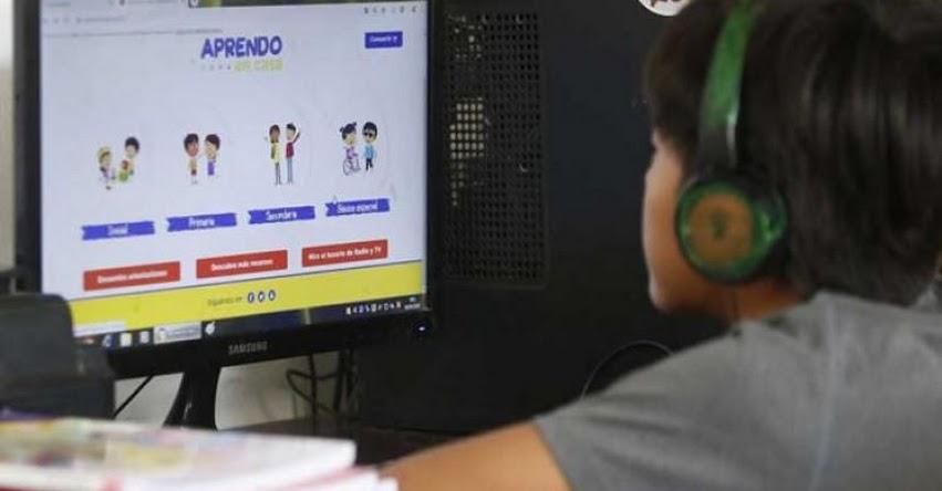 MINEDU: Aprendo en casa vuelve renovado este lunes por tv y radio