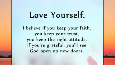 Quote of the day love yourself