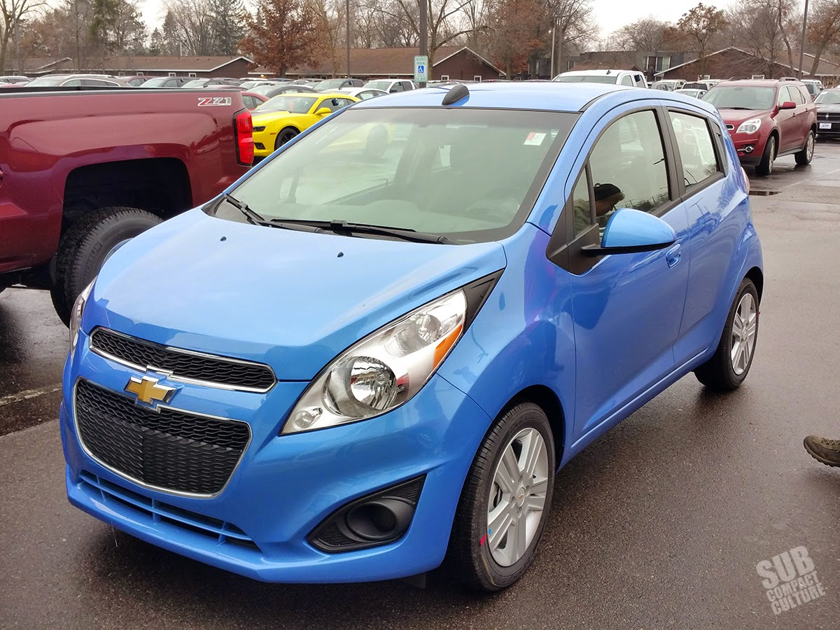 Denim 2015 Chevrolet Spark