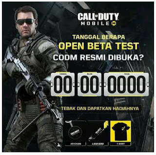 Jawaban Kuis Call of Duty Mobile Berhadiah Official Merchandise