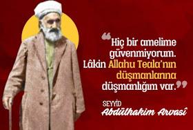 Es-Seyyid Abdülhakim Arvasi Hazretleri