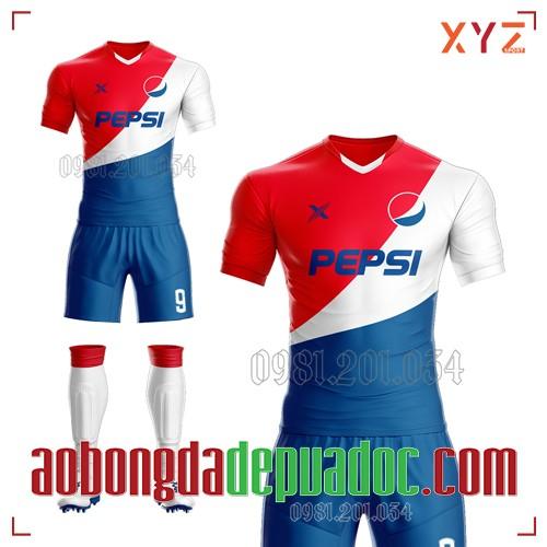 Áo Đấu Công Ty Pepsi Tự Thiết Kế Mã PEP-01 Đẹp Và Độc