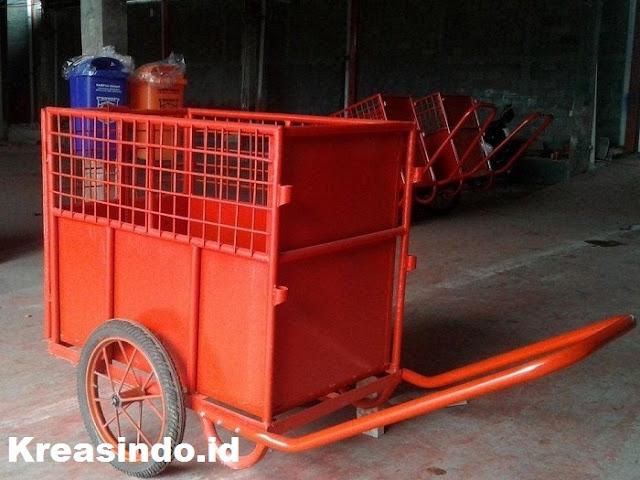 Jasa Gerobak Besi Sampah Paling Recomended di Jabodetabek