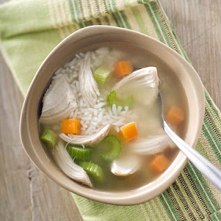 sore throat chicken soup
