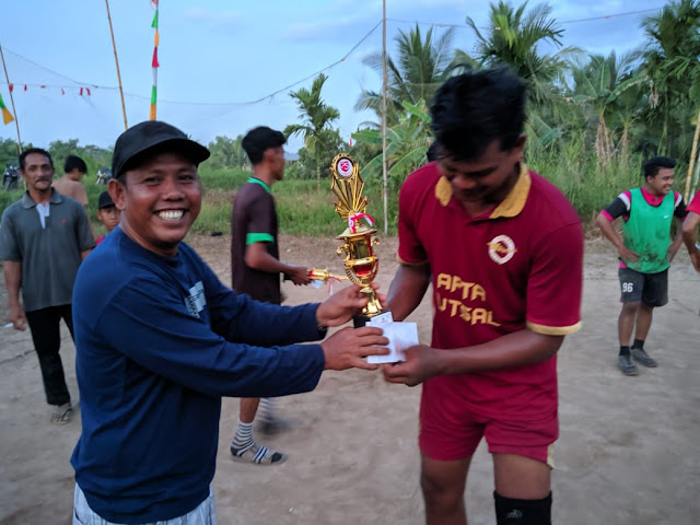 Turnamen Volly Selesai, Tim RT 16 Sabet Gelar Juara