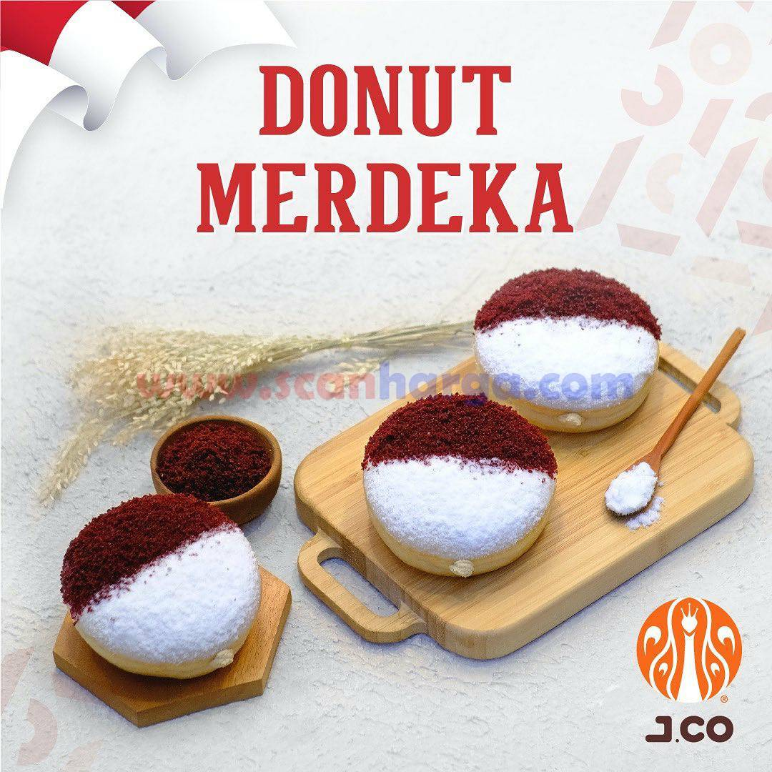 JCO Donut Merdeka Spesial HUT RI 76 2