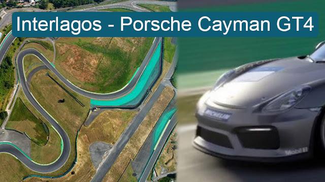 Στροφή - στροφή η διάσημη πίστα Interlagos οδηγώντας Porsche Cayman GT4 σε εικονική πραγματικότητα (video)
