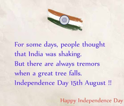 Thoughts on happy independence day