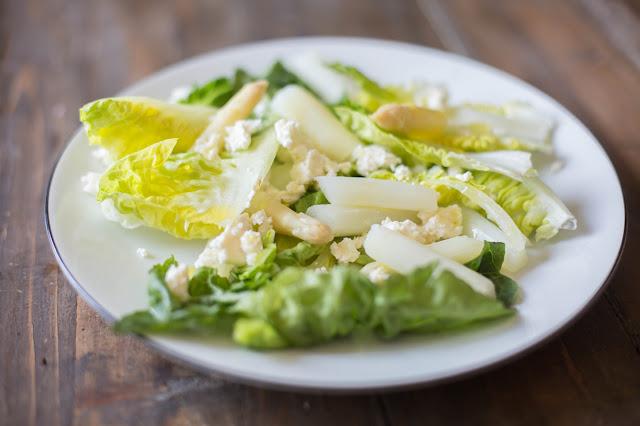 Spargel-Feta-Salat
