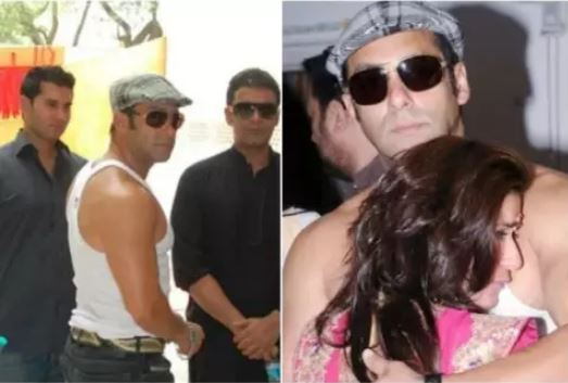 salman-khan-attended-actress-marriage-in-only-undergarment