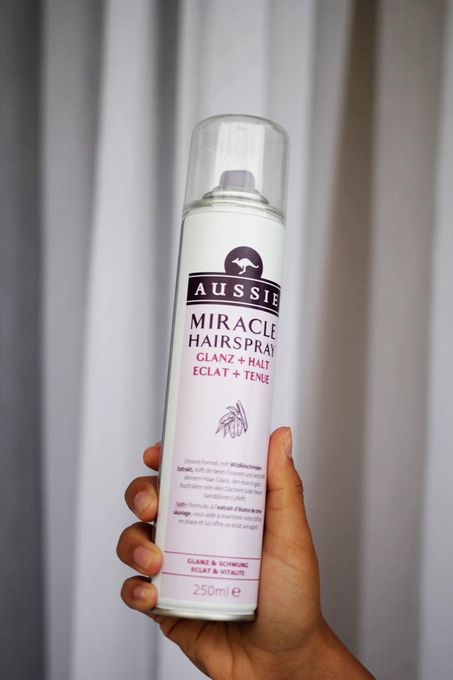 aussie miracle hair spray