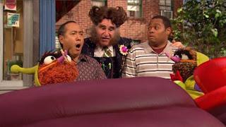 Grouches, Alan, Chris, Mr. Disgracey, Richard Kind, Sesame Street Episode 4324 Trashgiving Day season 43