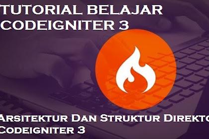 Belajar Codeigniter – Arsitektur Dan Struktur Direktori Codeigniter 3
