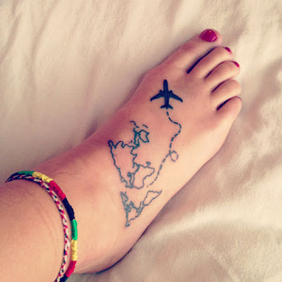Travel tatoo