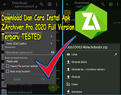 Download Dan Cara Instal Apk ZArchiver Pro 2021 Full Version