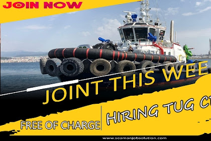 Able Seaman, Motorman For Tugboat Vessel Netherlands