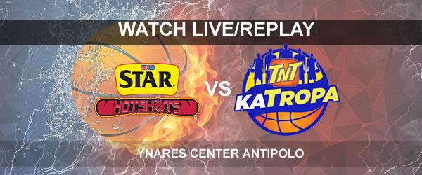 List of Replay Videos Star vs TNT September 17, 2017 @ Ynares Center