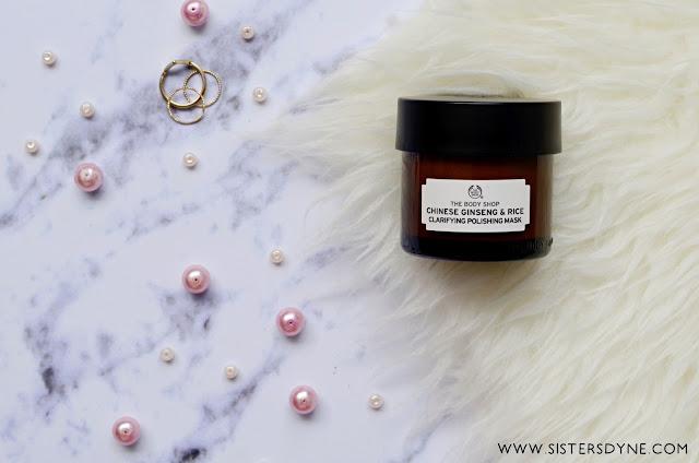 Chinese Gingseng & Rice Clarifying Polishing Mask The Body Shop