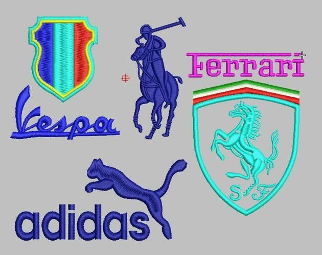 Mẫu logo thêu vi tính đẹp - Hình 1
