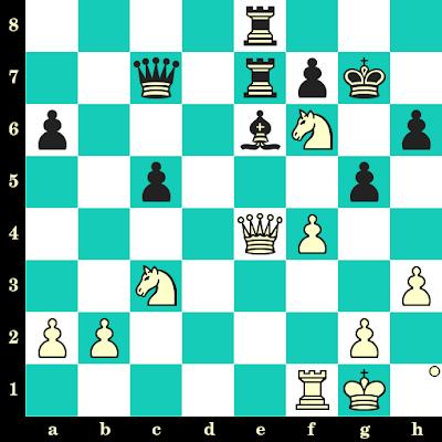 Les Blancs jouent et matent en 2 coups - Miguel Najdorf vs Rodolfo Kalkstein, Montevideo, 1954
