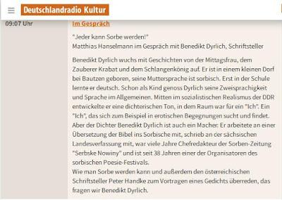 http://www.deutschlandradiokultur.de/schriftsteller-benedikt-dyrlich-jeder-kann-sorbe-werden.970.de.html?dram:article_id=364537