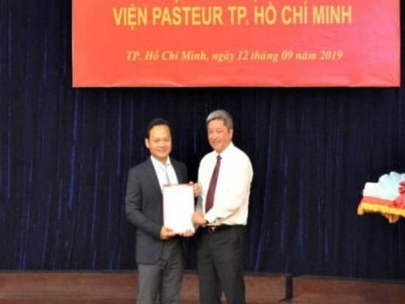 Con trai Bộ trưởng Y tế được bổ nhiệm làm Viện phó Viện Pasteur TP.HCM