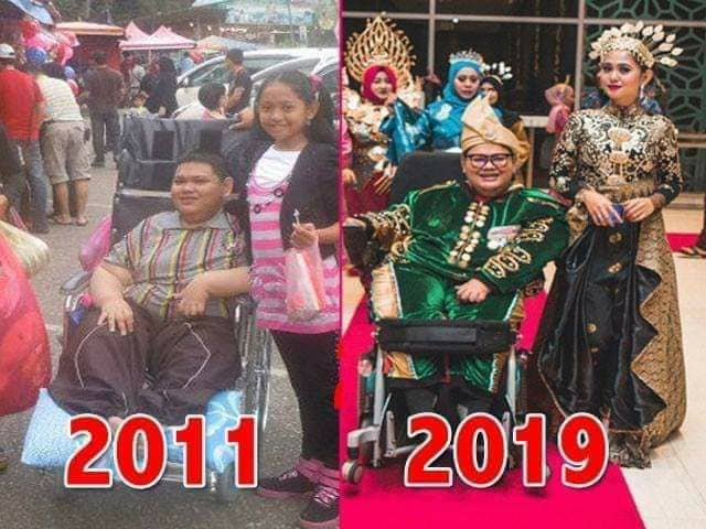Siapa Saudara KHAIRUL NIZAM yang membuatkan ramai rakyat malaysia menangis!!!! Semangat Luar Biasa OKU