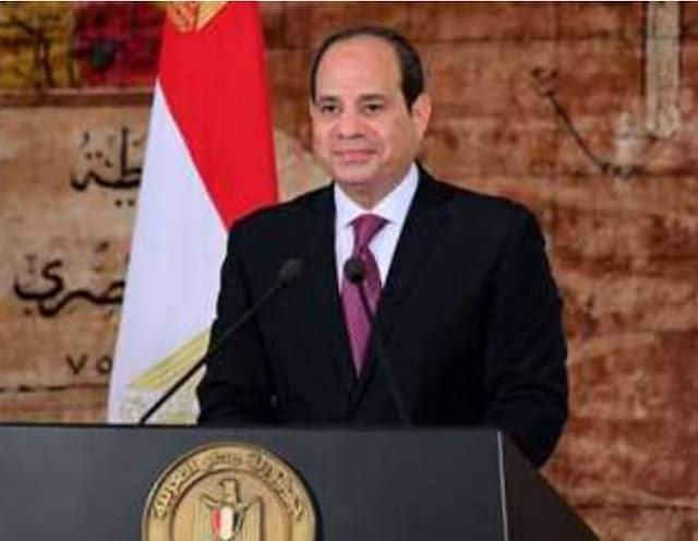 الرئيس السيسي يهنئ الشعب المصري بعيد الأضحى