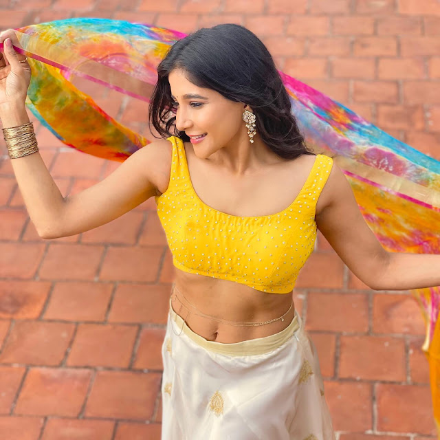 Hot Actress Sakshi Agarwal Sexy Navel Show Photoshoot Stills Actress Trend
