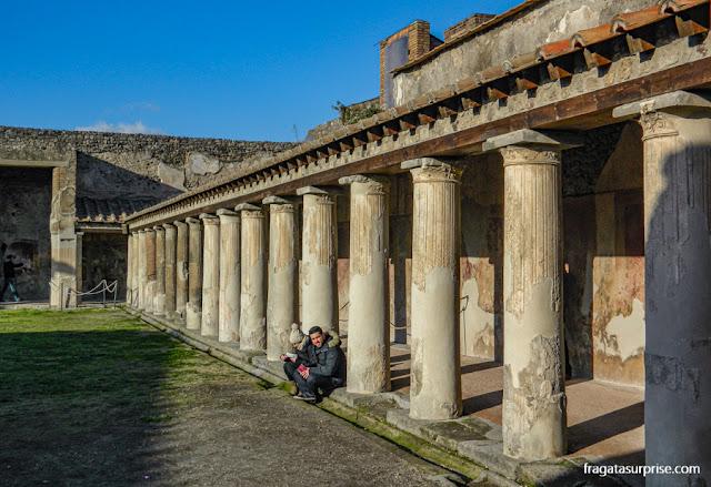 Termas de Estábia, Pompeia