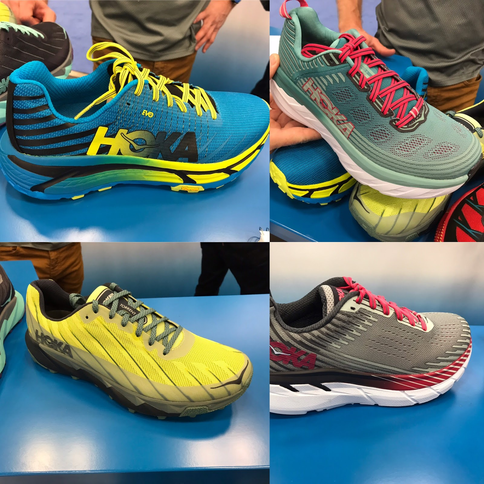 b370aea724e8 Hoka ONE ONE Spring 2018 Previews HERE New Fly Line with Mach (full review)  and Cavu (full review)